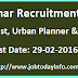 UDH Bihar Recruitment 2016 – Apply Online for 188 Specialist, Urban Planner & Other Posts