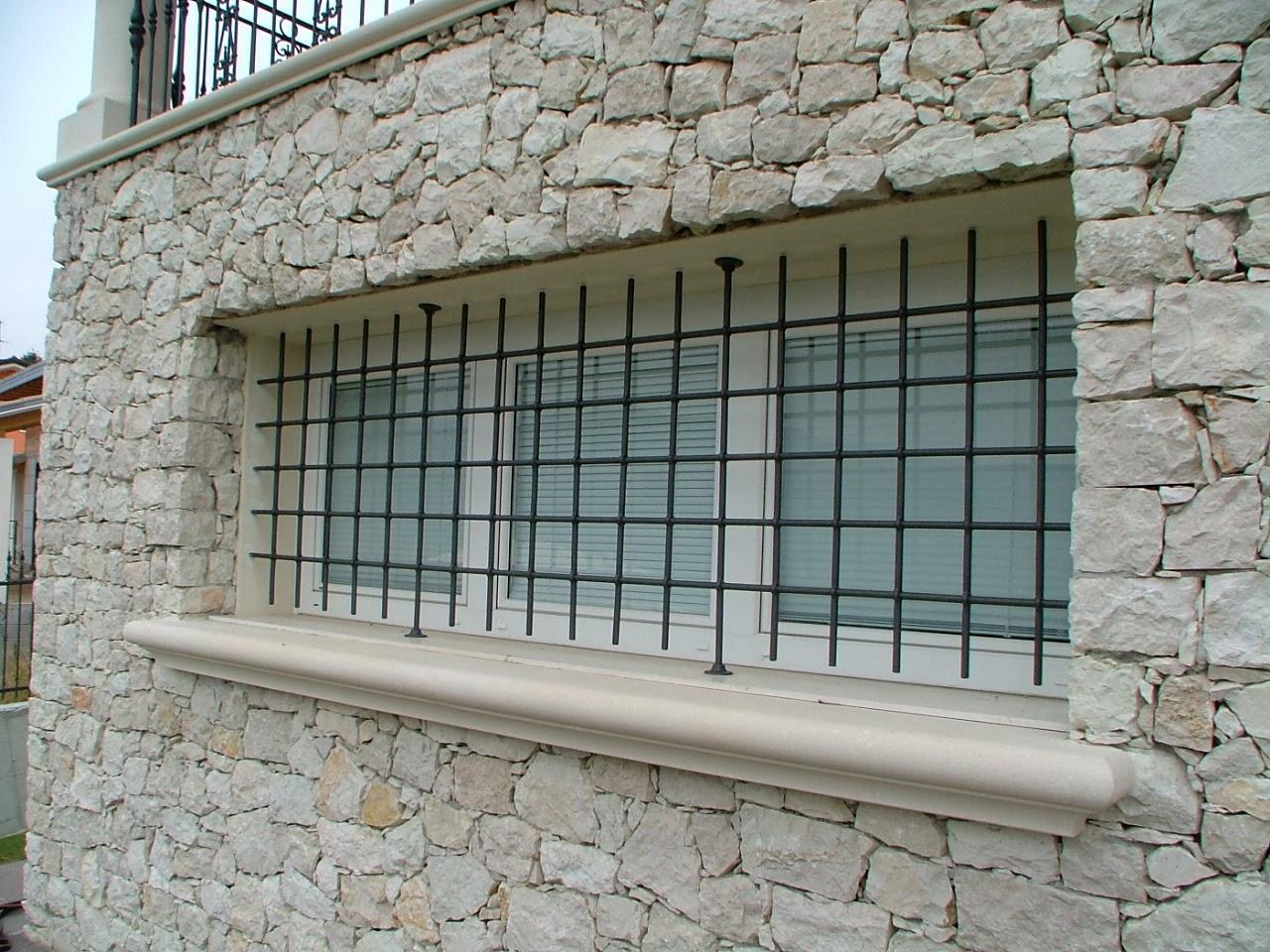 Inferriate - Inferriate ferro battuto per finestre ...