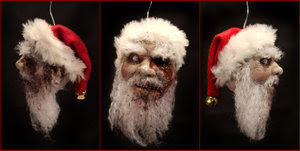 Zombie Christman Ornament