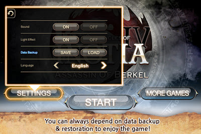 inotia 4 menu inotia 4 caracther inotia 4 gameplay inotia