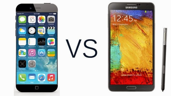 iPhone 6 versus Galay Note 4 : Detailed Review