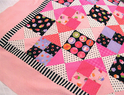 quilt made from Little Lady fabric by Holly Holderman for Lakehouse Dry Goods