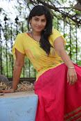 Aparna Glam pics in yellow top-thumbnail-3
