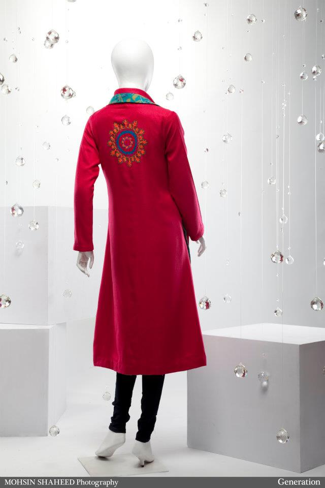New lookbook generation winter collection 2011 2012 for Bano market faisalabad dresses