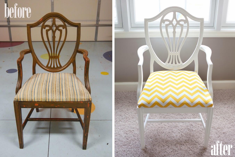 Обновляем старые стулья: 4 мастер-класса, 70 фото до и 71