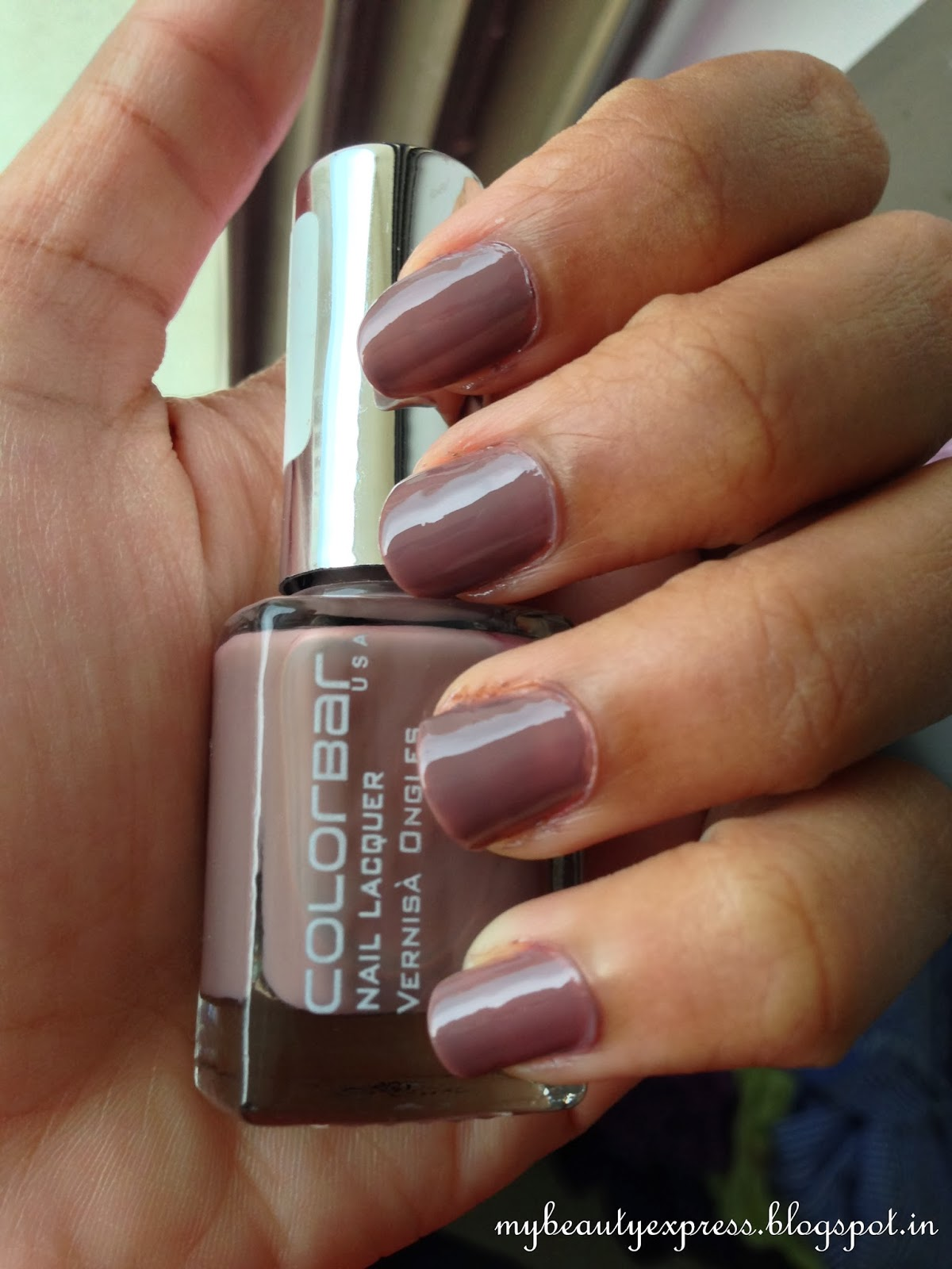 Nails! ~ Another Perfect Fall Color, feat. Colorbar Exclusive Nail ...