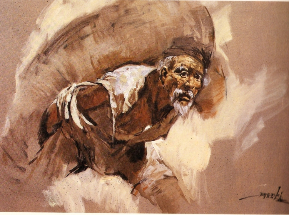 Galery Lukisan: Lukisan Orang Tua