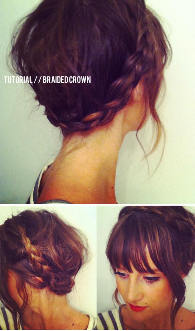 Peinados para chicas de cabello corto Yuya YouTube