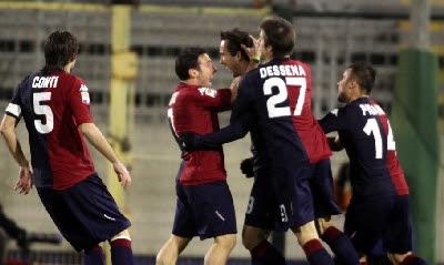 Cagliari Roma 4-2 highlights