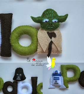 nombre-fieltro-star-wars-decoración-infantil-name-banner-yoda-darth-vader