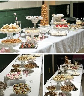 I Catered a Desserts Bar