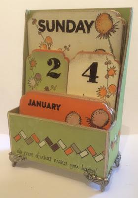 Perpetual Calendar Kit My Creative Spirit Paperartsy