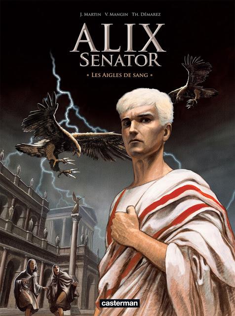 ALIX SENATOR - Série en cours - Tomes: 8