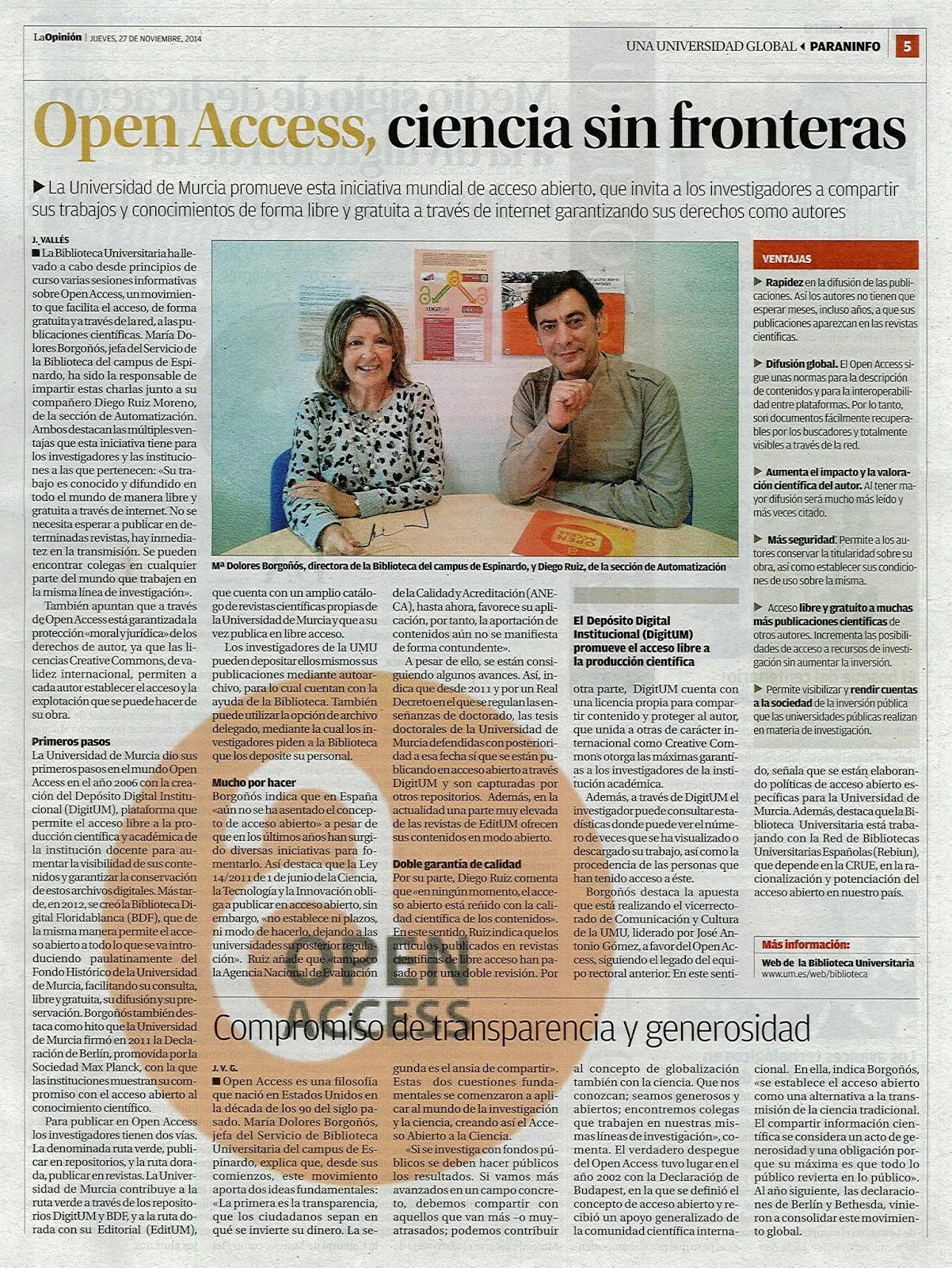 Open Access, ciencia sin fronteras