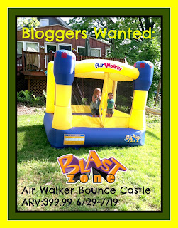 Air Walker Bounce Castle Blogger Opp