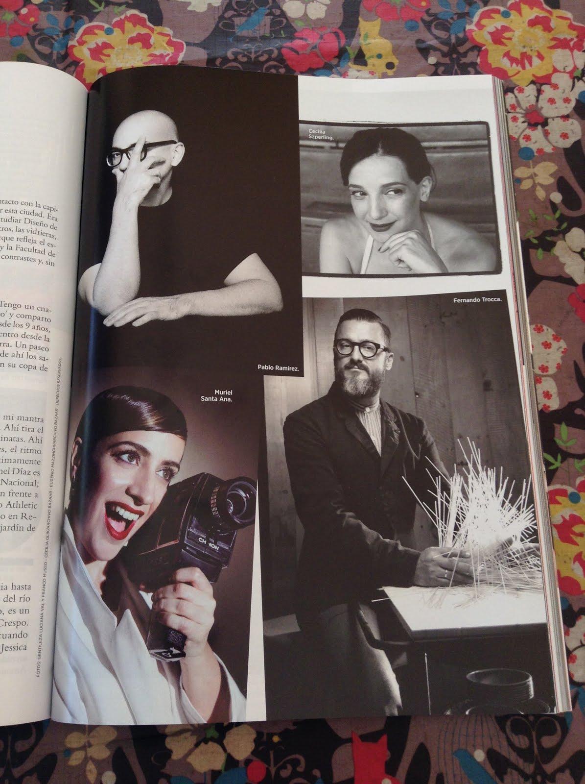 ceci sz en Harper's Bazaar Mayo