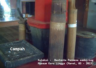 Peralatan sehari-hari masyarakat Karo
