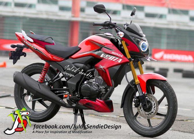 Top modifikasi motor honda verza 150 cw