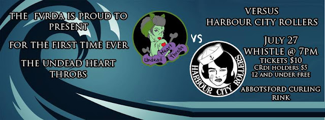 Undead Heart Throbs vs Harbour City Rollers