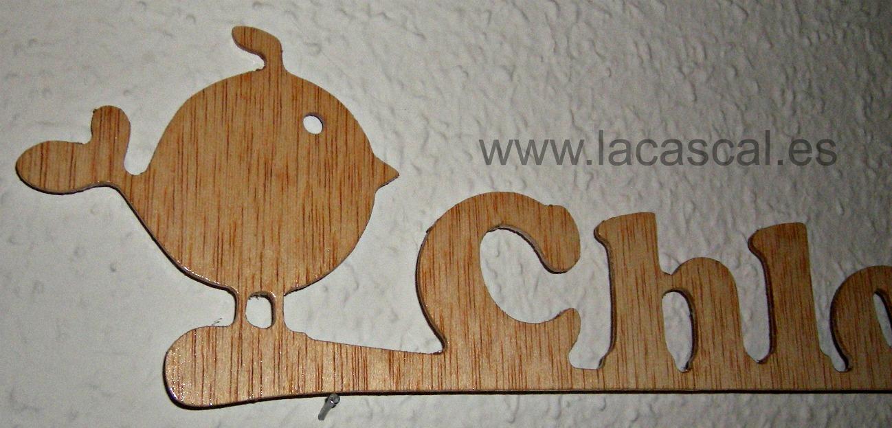 Nombre en madera dise os propios en el taller - Lacado de madera ...