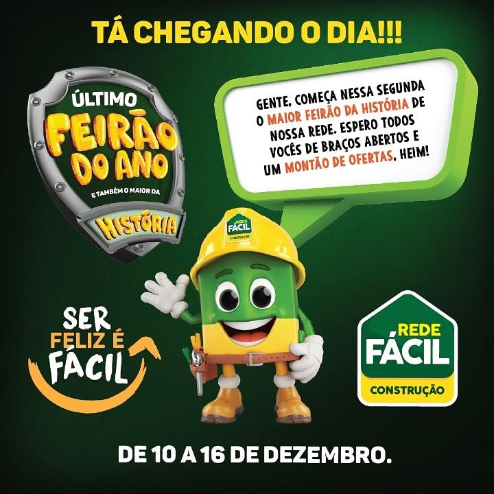 GRANDE FEIRÃO REDE FÁCIL CONSTRUÇÃO JATAÚBA
