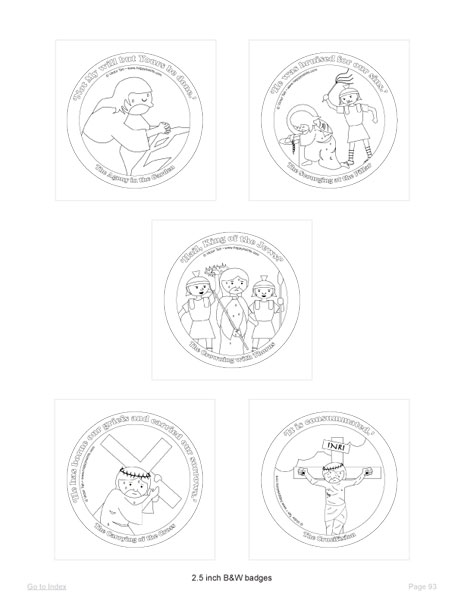 Sorrowful mysteries coloring pages coloring pages for Joyful mysteries coloring pages