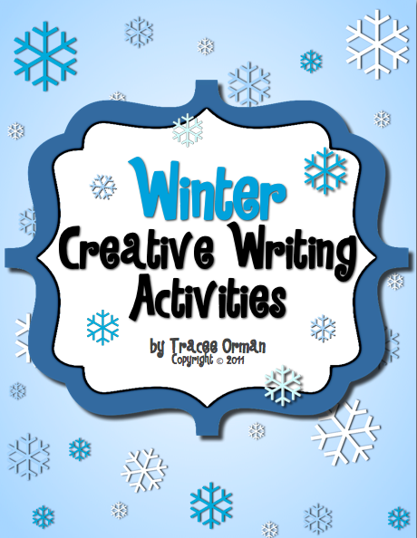 Winter Acrostic Poem Template Holiday/winter ebook with