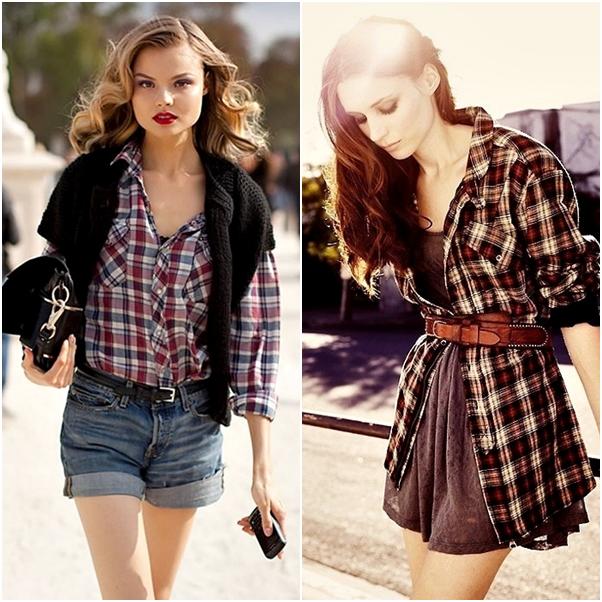 Looks para Festa Junina O que usar como xadrez fashion bonito