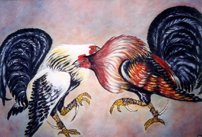Pelea de gallos