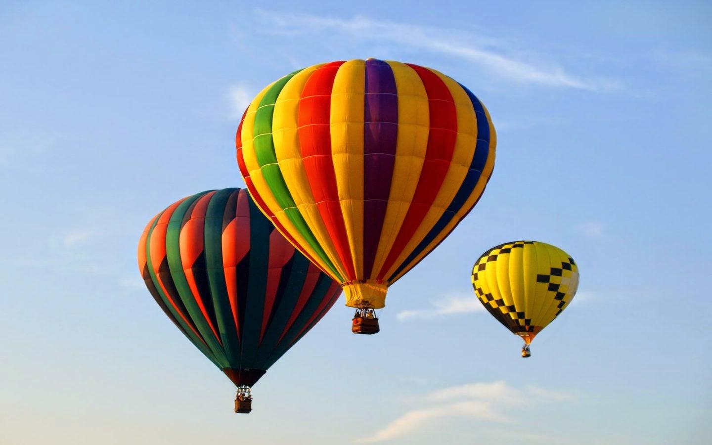 globos que vuelan: