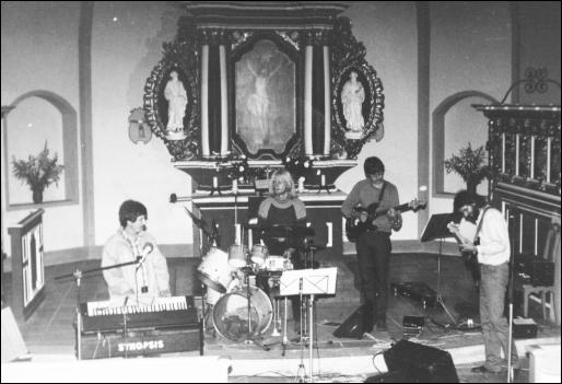 Auftritt 1985.