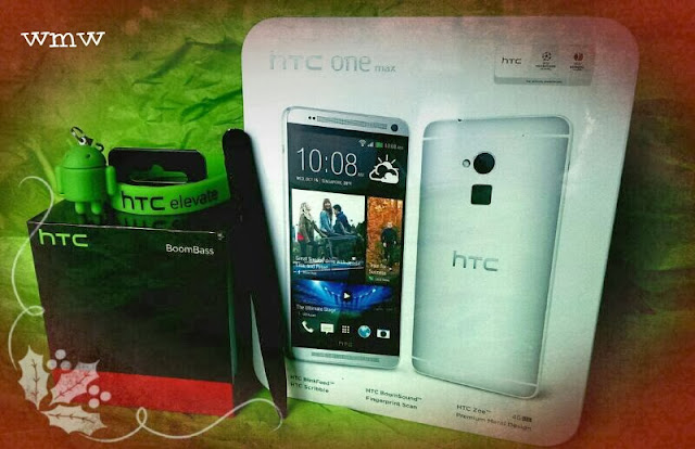 htc one max - christmas comes early!