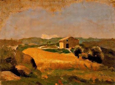Casa en un camp de blat (Pablo Picasso)