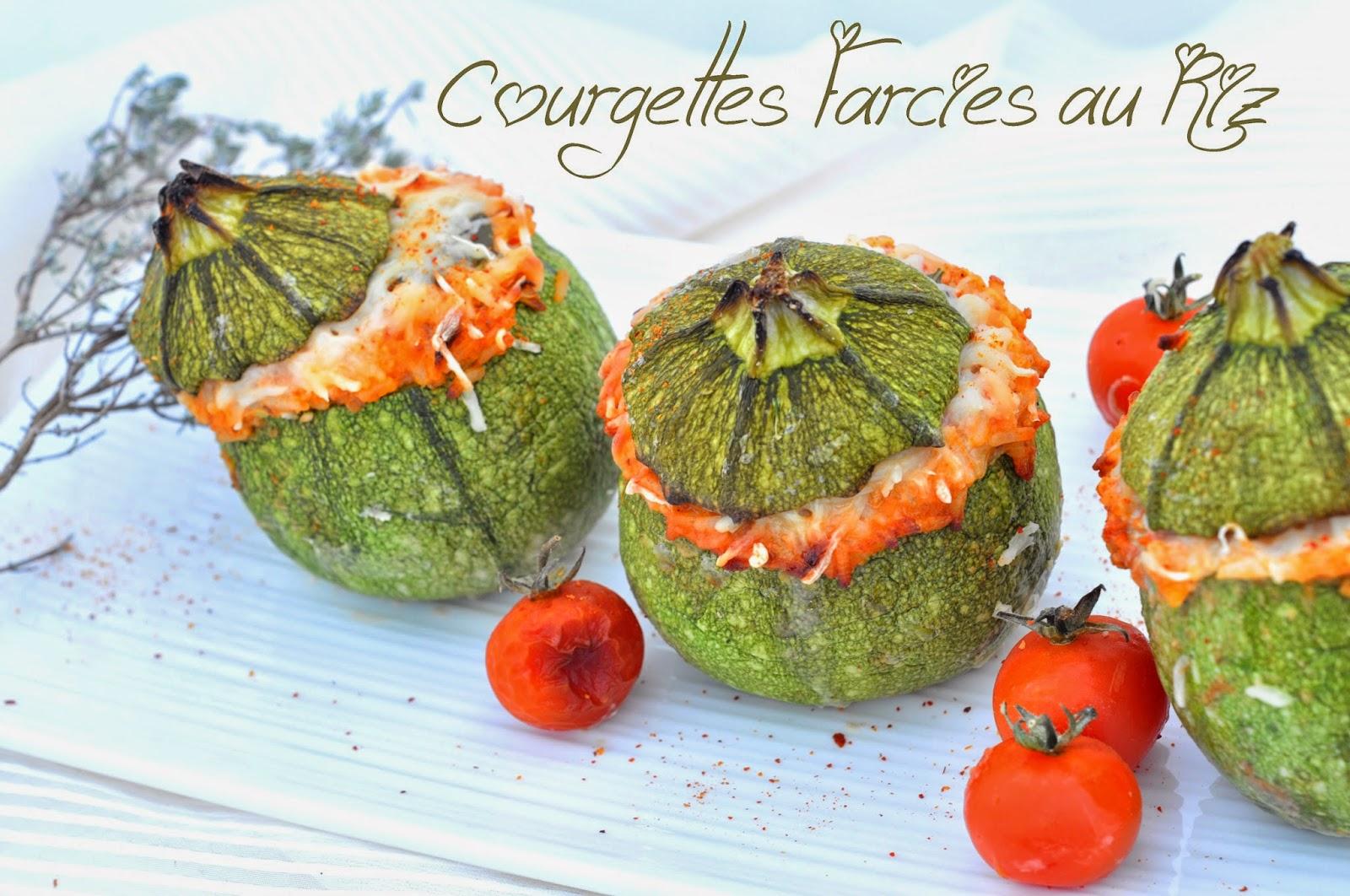 Courgettes farcies au riz blogs de cuisine - Recette courgette farcie riz ...