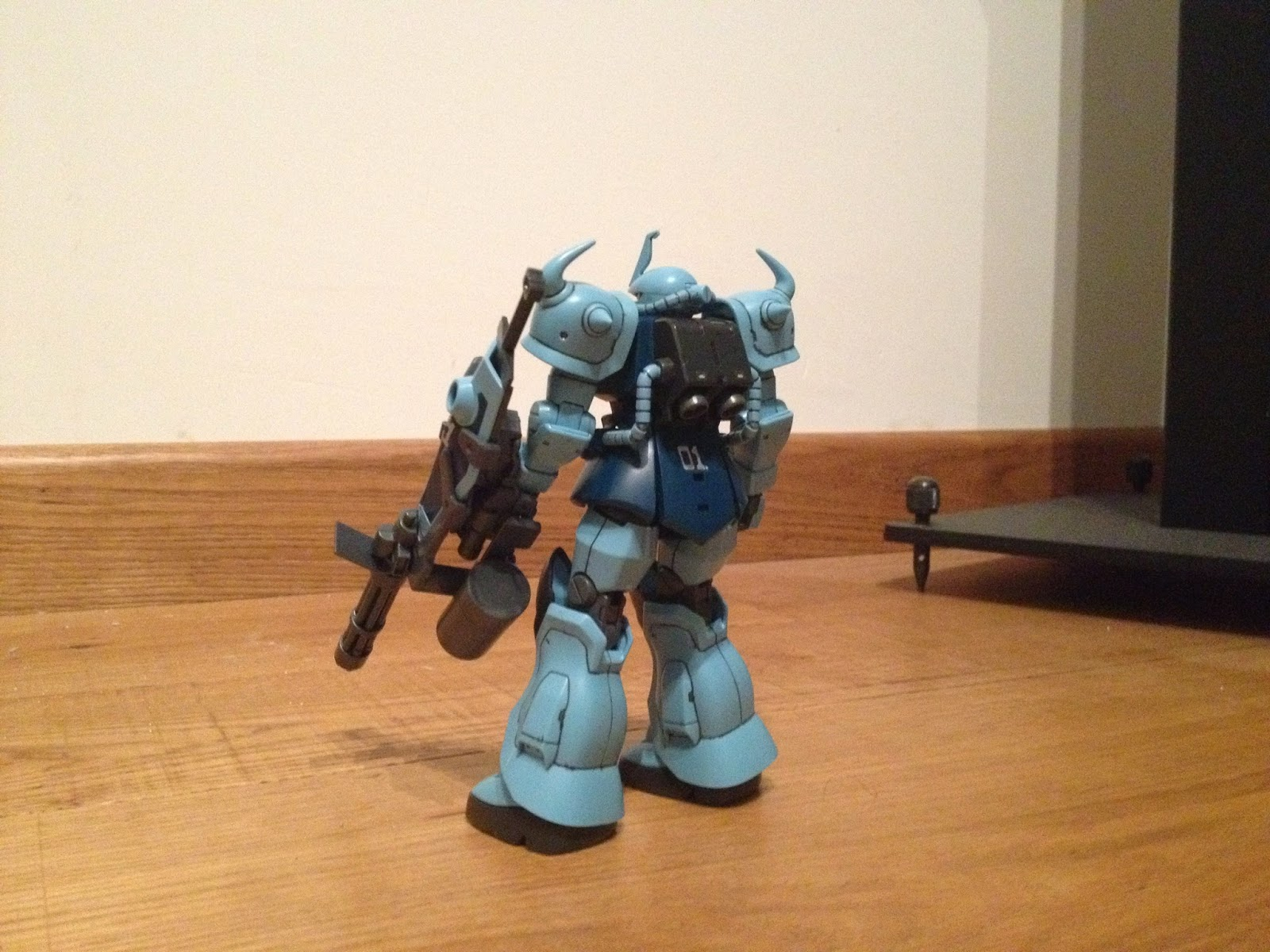 HGUC GOUF CUSTOM GUNPLA MS -07B -