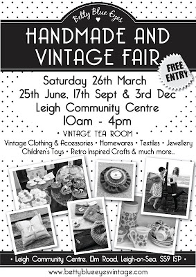 Leigh on sea handmade and vintage fair