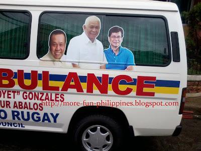 Boyet Gonzalez, Benhur Abalos, Dodo Rugay