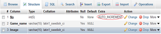 Add auto increment to column in mysql