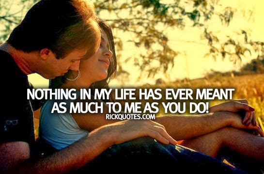 love couple hug quotes Life Has Ever Meant As Much