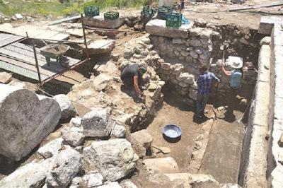Εμπορικό κέντρο της ελληνιστικής περιόδου ανακαλύφθηκε στη Σαγαλασσό