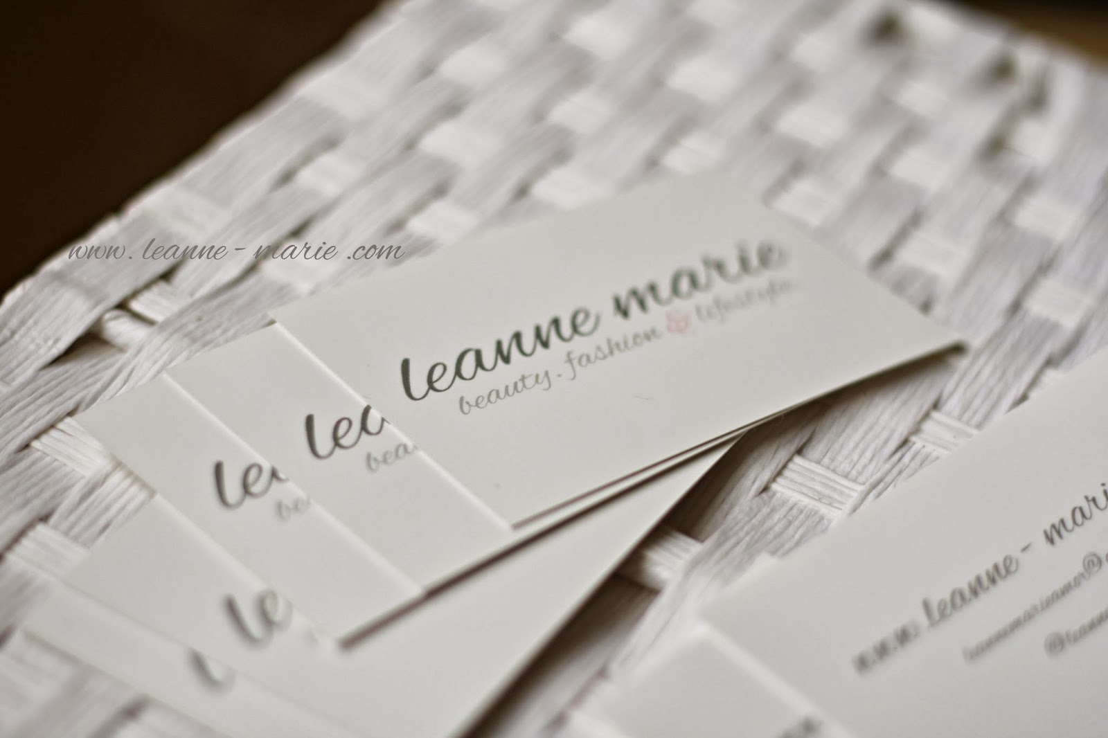 Leanne Marie Free Business Cards From Moo