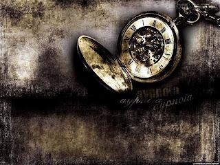 tempo, o passado e o presente juntos.