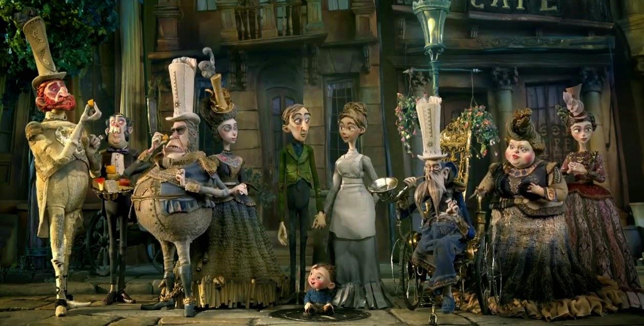 Boxtrolls animación películas infantiles familia
