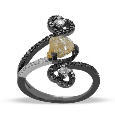Ariş Pırlanta ham elmas yüzük