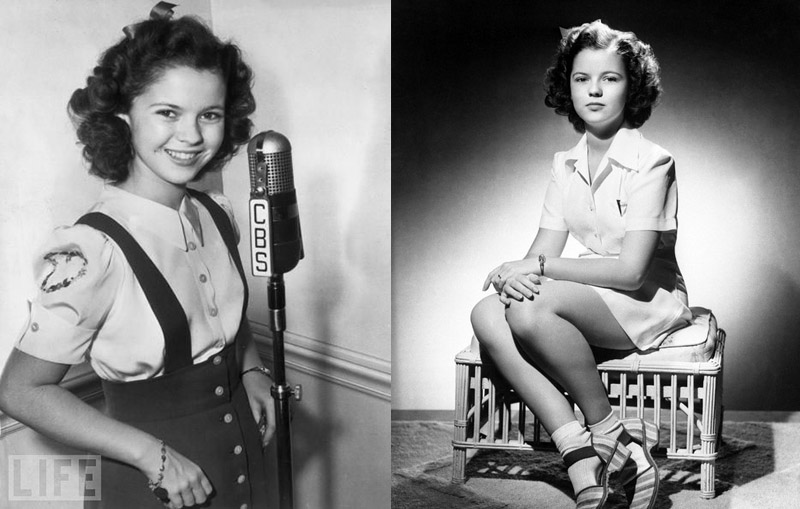 shirley temple as a teen nude