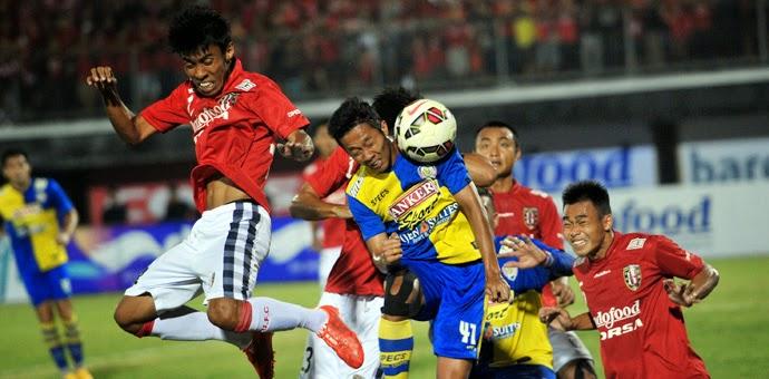 Bali United Pusam vs Pelita PBR Bali Island Cup 2015