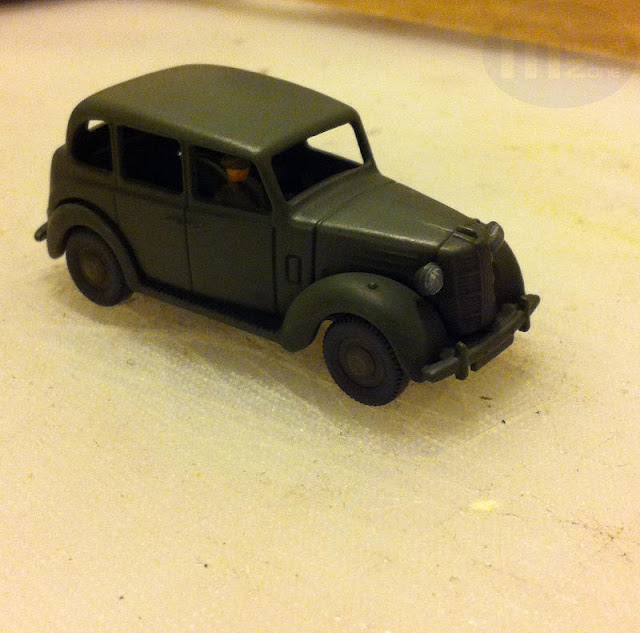 WW2 British Staff Car