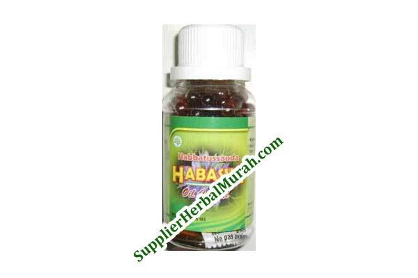 Kapsul Minyak Habbatussauda Habasya isi 100 (Heksatamaprima)