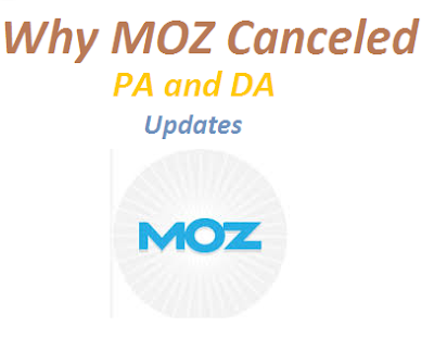 why moz canceled pa and da updates