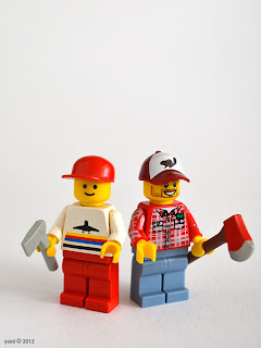lego lumberjack - then and now